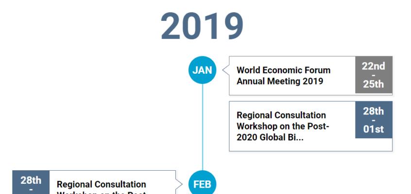 Post-2020 timeline